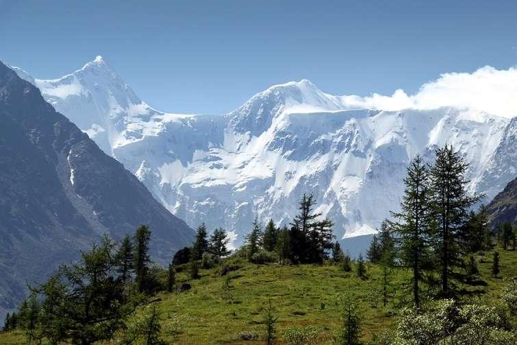 самая высокая гора алтая