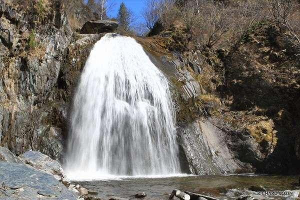 водопады горного алтая
