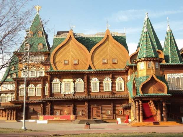 москва музей-заповедник коломенское