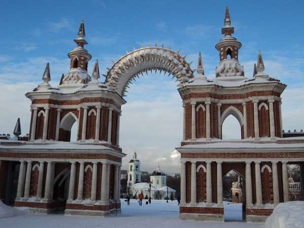 парк царицыно москва