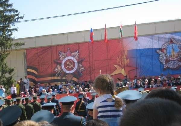 парад победы в козельске 2016