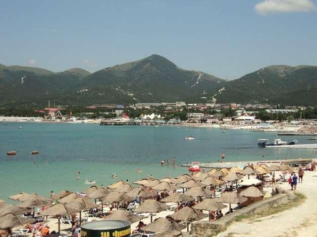 кабардинка фото пляжей и набережной