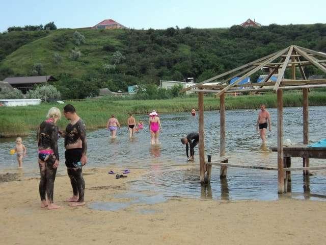 голубицкая грязевое озеро фото
