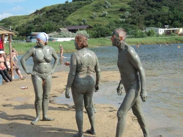 грязевые озера на азовском море