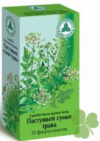 пастушья сумка описание растения