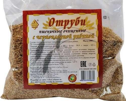 отруби пшеничные при запорах