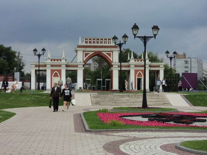 царицынский парк в москве фото