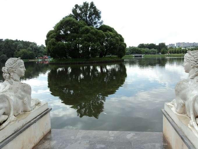 царицынский парк фото