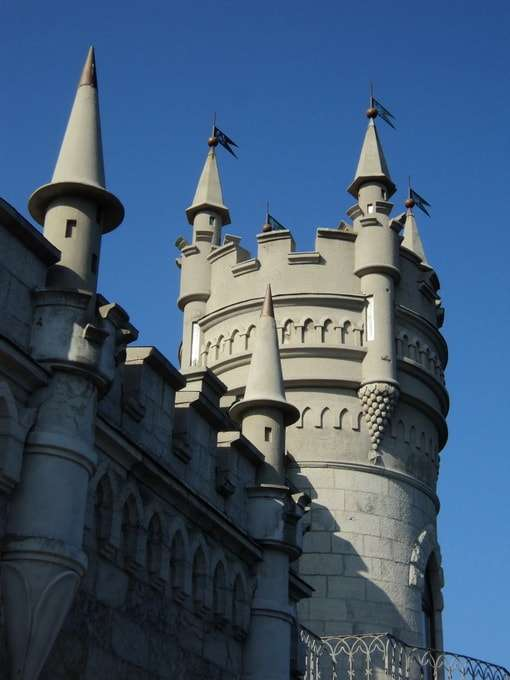 ласточкино гнездо история замка