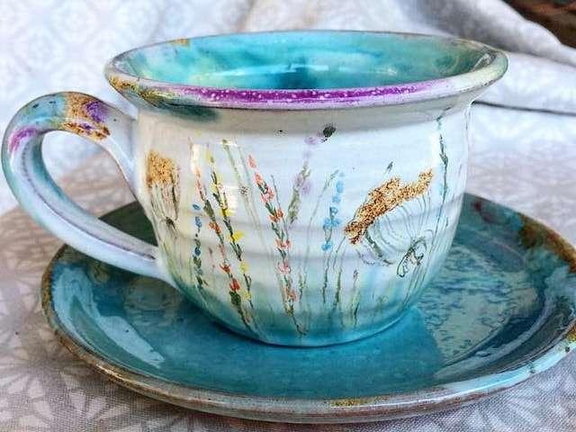 керамическая посуда ручной работы
