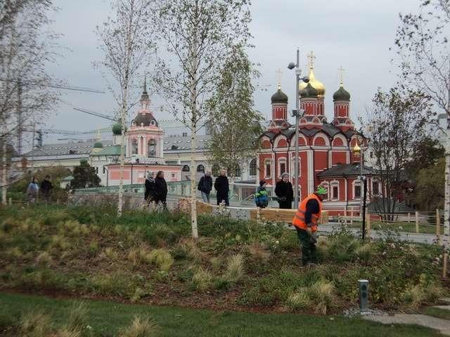 новый парк зарядье в москве
