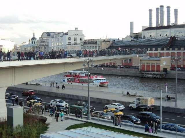 парк зарядье фото парящий мост