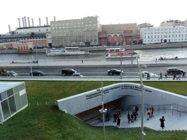 парк зарядье подземный музей