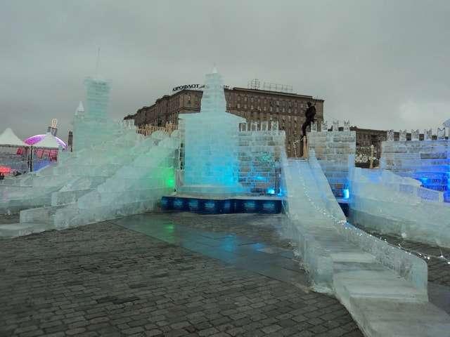 поклонная гора ледяные скульптуры