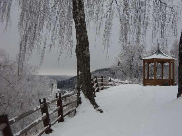 плес зимой фото