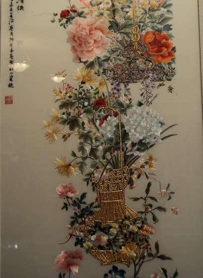 китайская вышивка в гуме