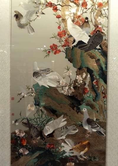 выставка в гуме китайская вышивка