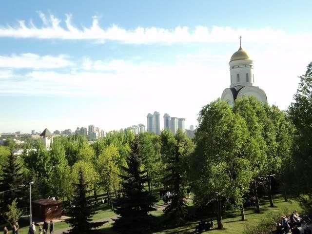 москва парк победы на поклонной горе