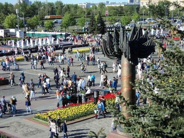 парк победы на поклонной горе фото