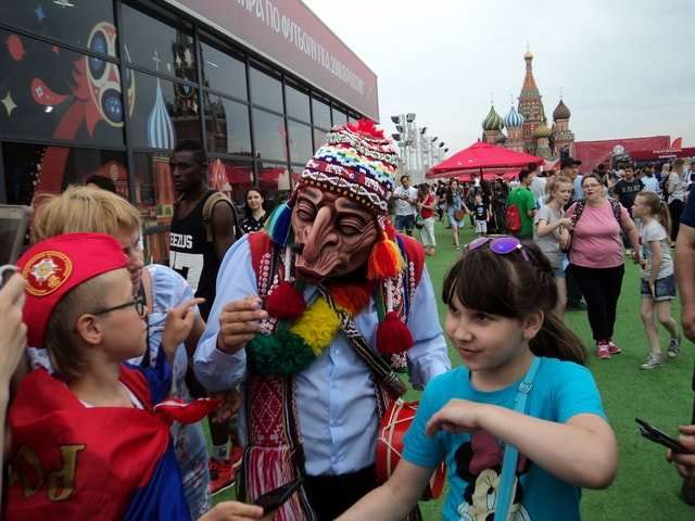 парк футбола на красной площади в москве