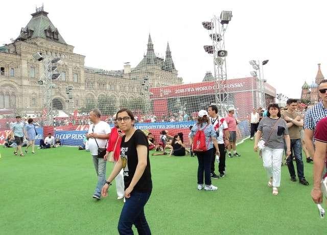 футбольный парк на красной площади в москве