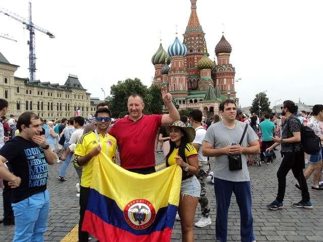 чемпионат мира по футболу 2018 фото болельщиков