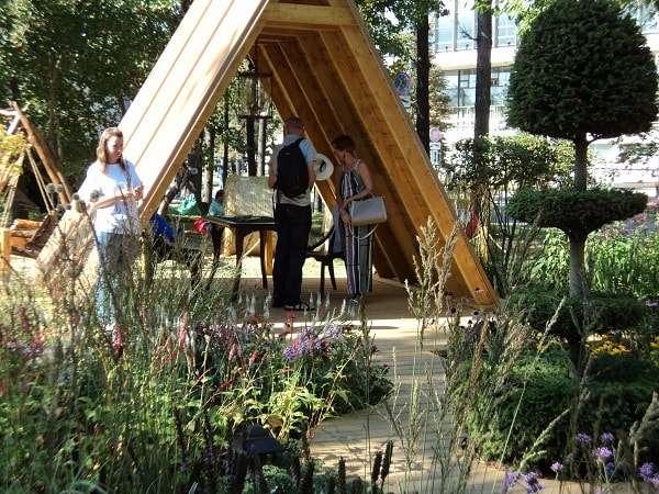 выставка сады и люди 2018 на вднх