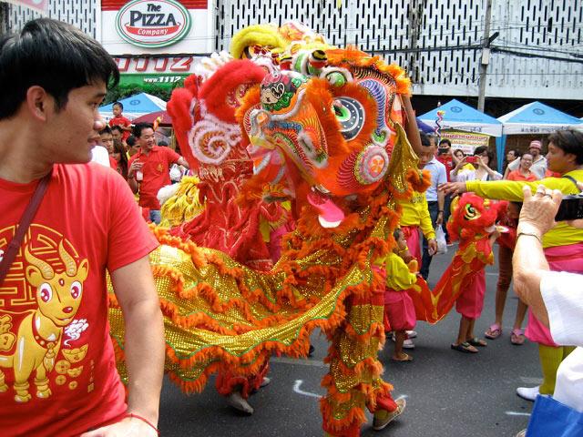 китайский новый год 2019 в тайланде