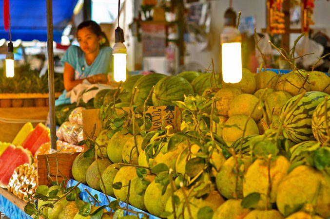 тайские рынки зимой