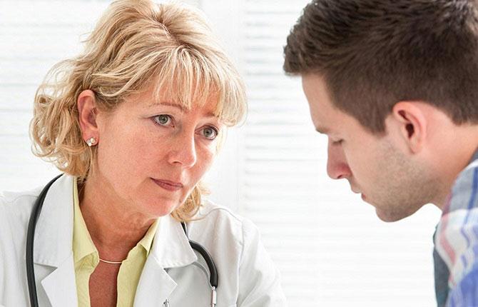 обращение к врачу за помощью
