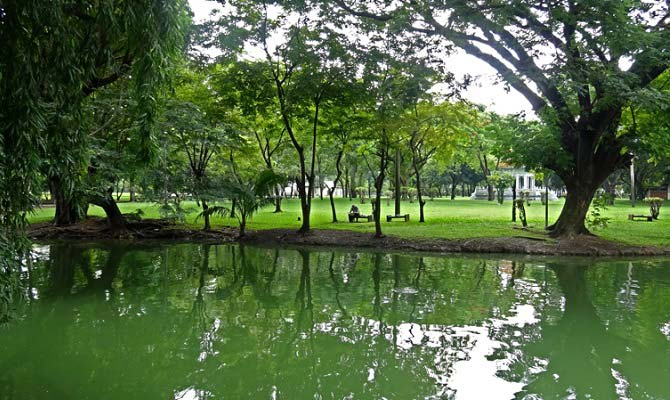 парк люмпини бангкок