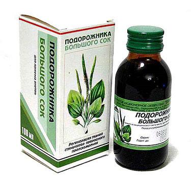 лечебные свойства и противопоказания сок подорожника
