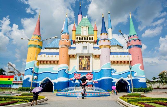 парк аттракционов в бангкоке