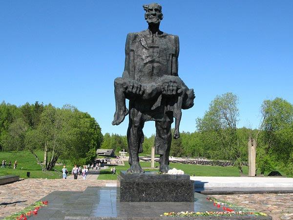 скульптура непокоренный человек