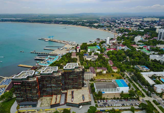 город анапа и пляж