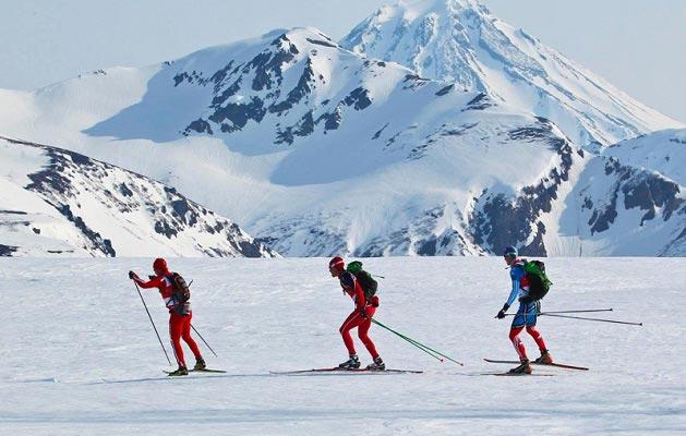 камчатский лыжный марафон