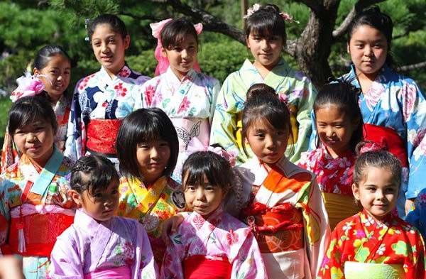 японские девочки