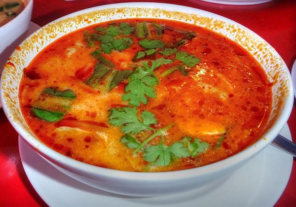 тайский суп том ям рецепт в домашних условиях