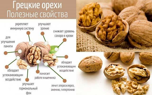 чем полезны грецкие орехи для женщин