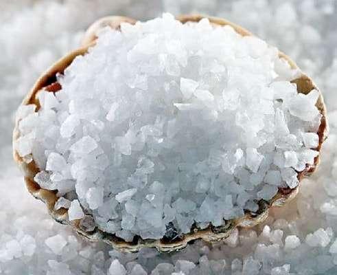 с морской солью