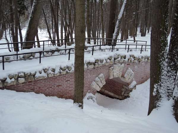 царицыно зимой
