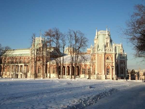 парк царицыно зимой фото
