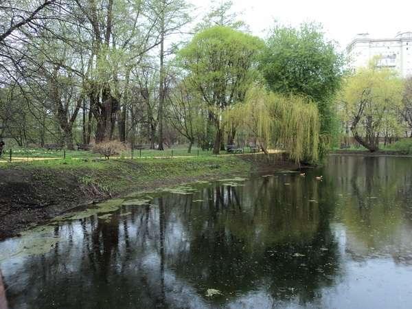старинный пруд