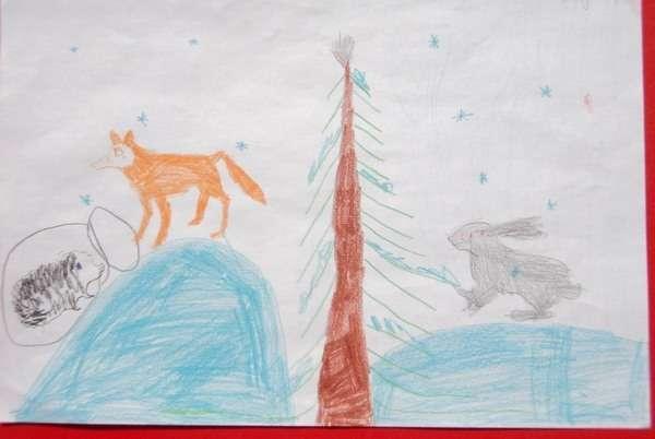 чудесный мир природы детские рисунки
