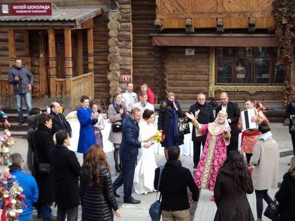 свадебное гулянье фото