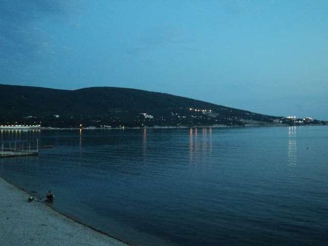 черное море вечером