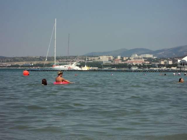 геленджик центральный пляж фото