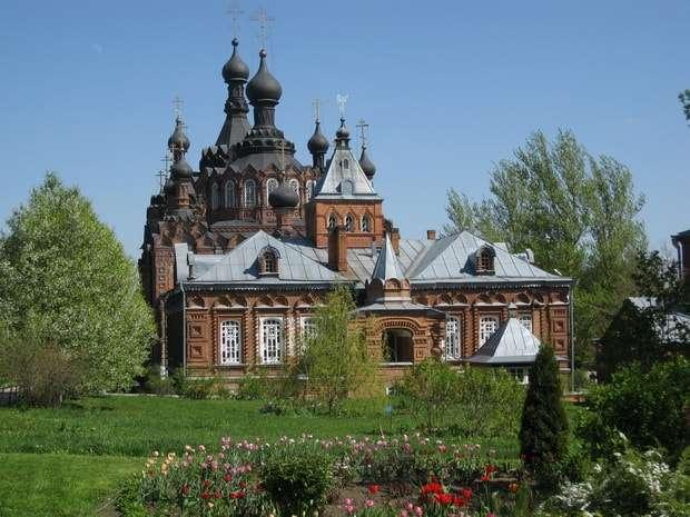 женский монастырь в шамордино калужской области