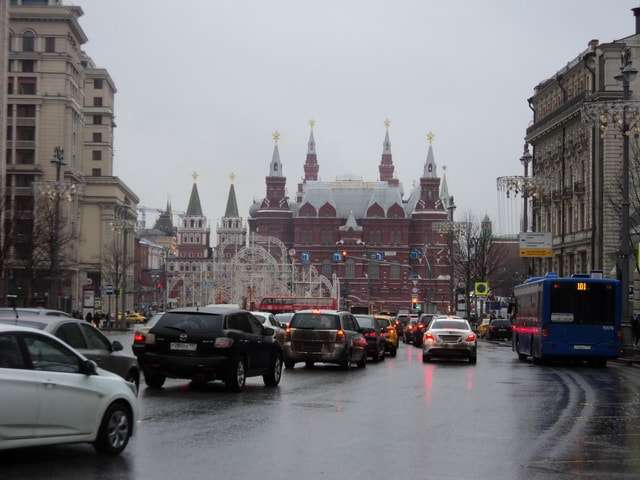 тверская улица столицы