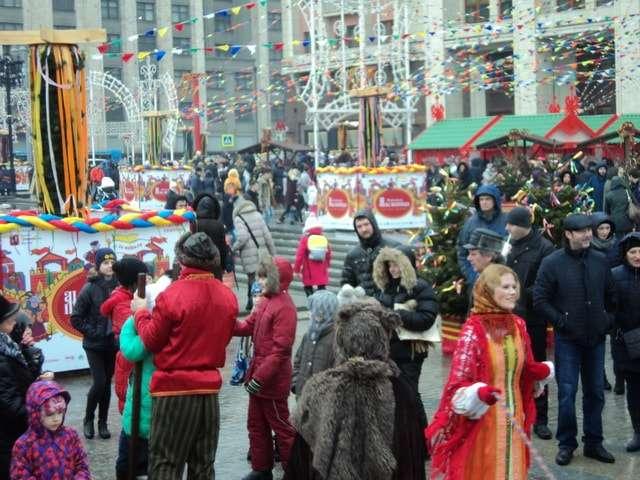 масленица 2017 в центре москвы